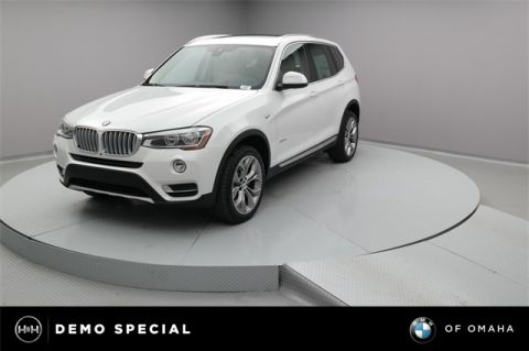 New 2017 BMW X3 xDrive35i With Navigation & AWD