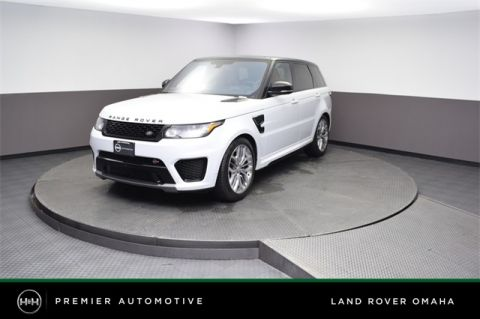 Pre-Owned 2016 Land Rover Range Rover Sport 5.0L V8 Supercharged SVR