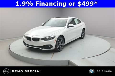 New 2018 BMW 4 Series 430i xDrive Gran Coupe With Navigation & AWD