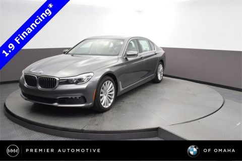 New 2018 BMW 7 Series 740i With Navigation & AWD
