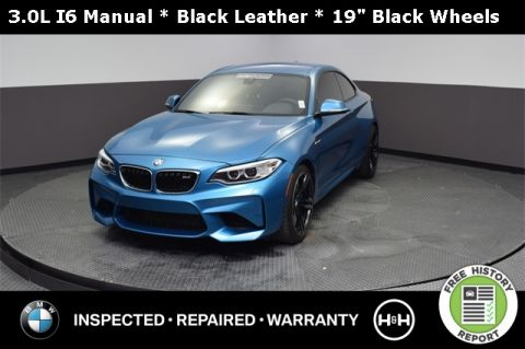 Pre-Owned 2017 BMW M2 RWD 2D Coupe